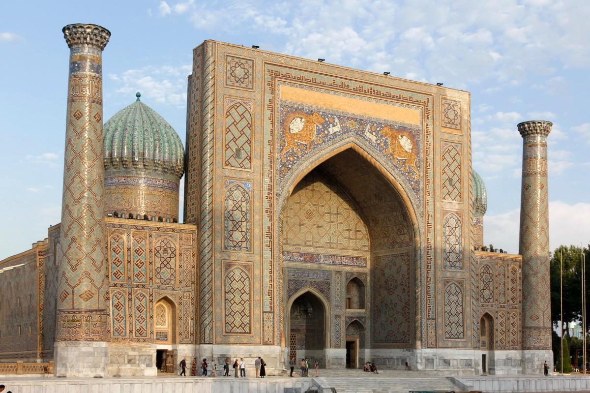 Zdjęcia: Samarkanda, Samarkanda, Medresa Szir-Dar przy Registanie, UZBEKISTAN