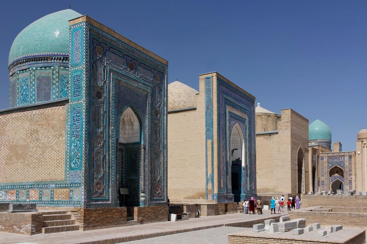 Zdjęcia: Samarkanda, Samarkanda, Zespół mauzoleów Szach-i Zinda, UZBEKISTAN
