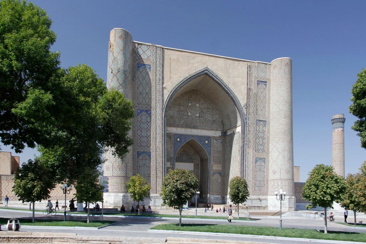 Zdjęcia: Samarkanda, Samarkanda, Meczet Bibi Chanum, UZBEKISTAN