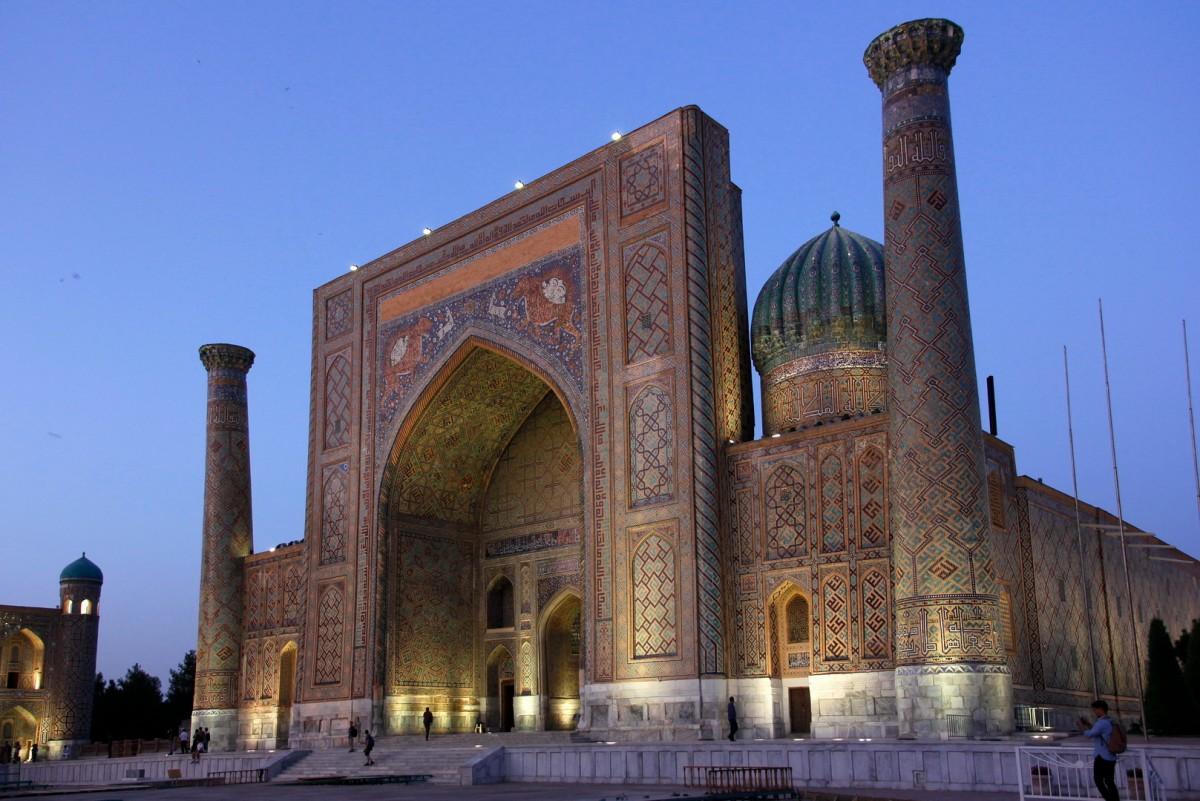 Zdjęcia: Samarkanda, Samarkanda, Medresa Szir-Dar, UZBEKISTAN
