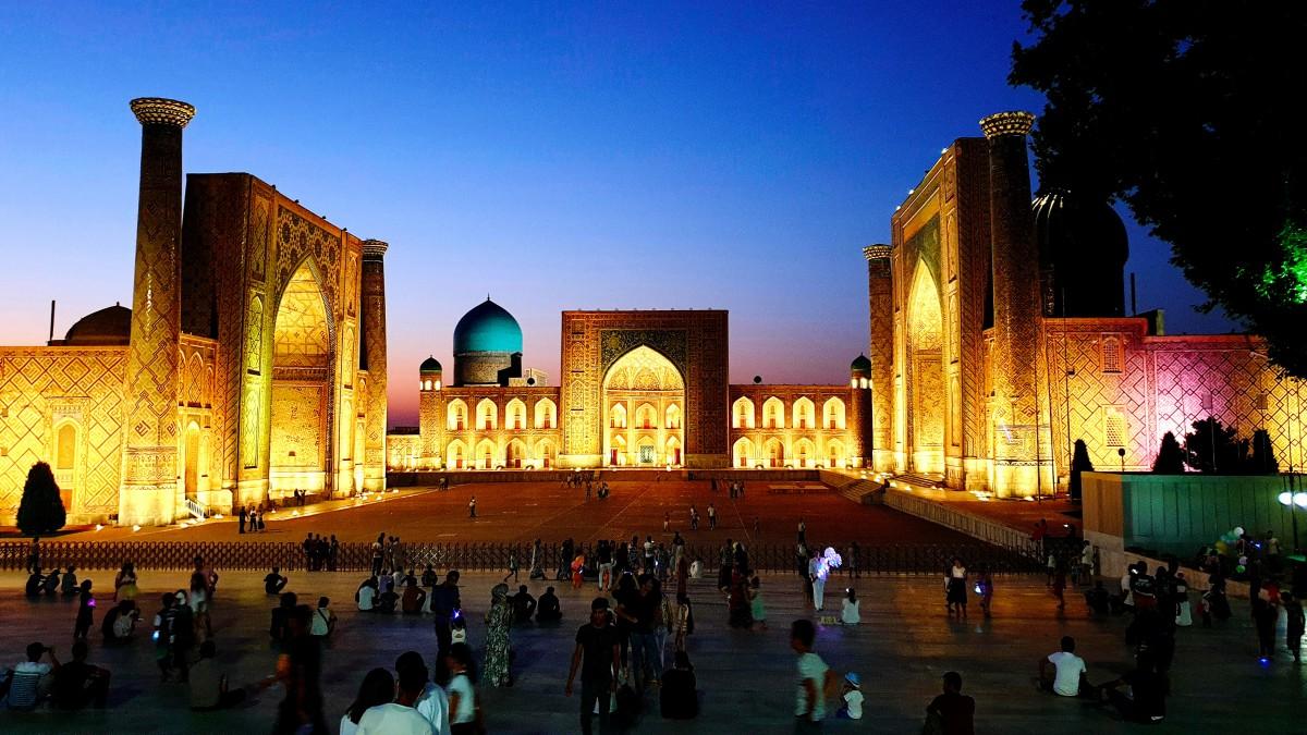 Zdjęcia: Samarkanda, Samarkanda, Registan, UZBEKISTAN