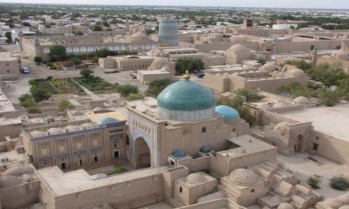 UZBEKISTAN / Karakałpacja / zachodni Uzbekistan / Panorama Chiwy
