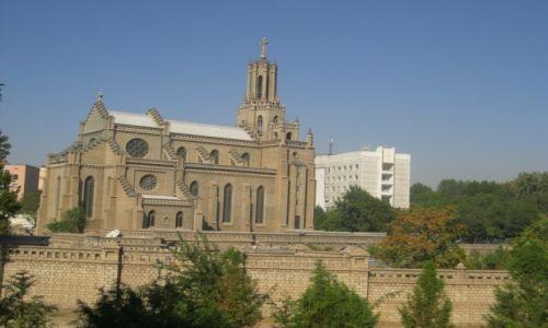 Zdjęcie UZBEKISTAN / Uzbekistan  -  Taszkient / Uzbekistan  -  Taszkient / Kościół katolicki w Taszkiencie