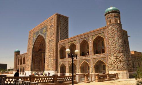 Zdjecie UZBEKISTAN / Samarkanda / Samarkanda / Registan Ensemble