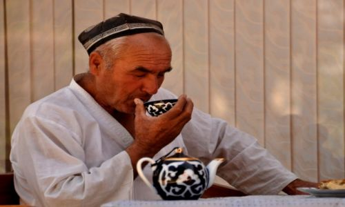 UZBEKISTAN / Samarkanda / Samarkanda / Popołudniowa herbatka