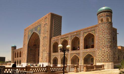 Zdjecie UZBEKISTAN / Samarkanda / Samarkanda / ze specjalną dedykacją dla Seni