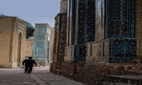 Zdjęcie UZBEKISTAN / wilajet samarkandzki / Samarkanda / Szah-i-Zinda