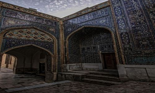 Zdjęcie UZBEKISTAN / wilajet samarkandzki / Samarkanda / Kompleks Szah-i-Zinda