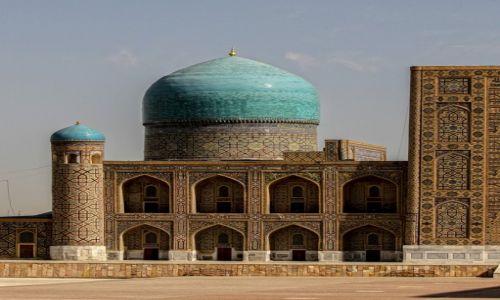 Zdjecie UZBEKISTAN / wilajet samarkandzki / Registon / Samarkanda