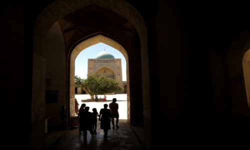 Zdj�cie UZBEKISTAN / Samarkanda / Samarkanda / Samarkandzkie zakamarki.