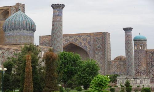 Zdj�cie UZBEKISTAN / - / Samarkanda / Bajeczne meczety Samarkandy