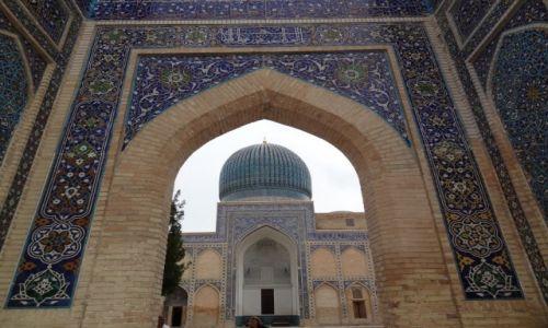 Zdj�cie UZBEKISTAN / - / Samarkanda / Grobowiec Timura