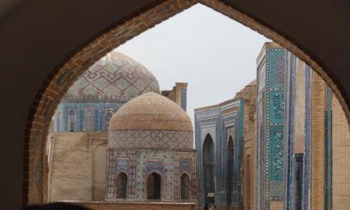 Zdjecie UZBEKISTAN / - / Samarkanda / Shah-i-Zinda: nekropolia Timurydów