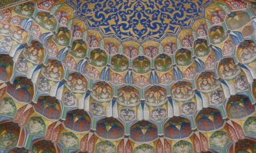 Zdj�cie UZBEKISTAN / - / Buchara / T�czowo mi: Portal medresy w Bucharze