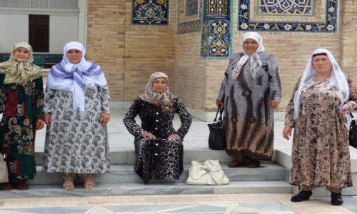 Zdjecie UZBEKISTAN / - / Samarkanda / Uzbeczki