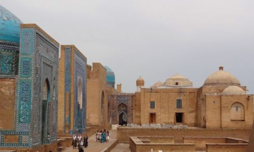 Zdj�cie UZBEKISTAN / - / Samarkanda / Shah-i-Zinda: nekropolia Timuryd�w