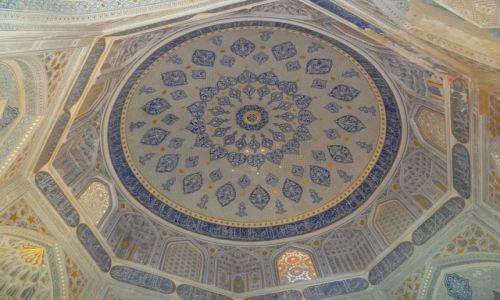 Zdj�cie UZBEKISTAN / - / Samarkanda / Shah-i Zinda - wn�trze kopu�y w Nekropolii Timuryd�w