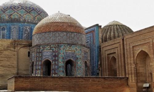 Zdjęcie UZBEKISTAN / Samarkanda / Shah-i-Zinda, nekropolia Timurydów / Najpiękniejsze miejsce wiecznego spoczynku