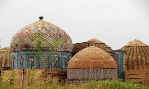 Zdjecie UZBEKISTAN / Samarkanda / Nekropolia Timurydów / Shah-i-Zinda