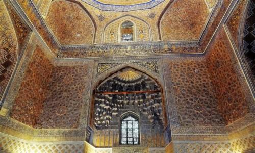 Zdjecie UZBEKISTAN / Samarkanda / Meczet / Teraz to piękno jest łatwo dostępne