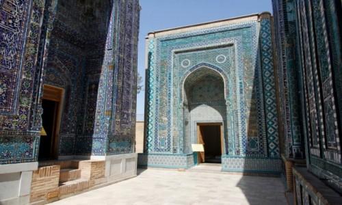 Zdjecie UZBEKISTAN / Samarkanda / Samarkanda / Kompleks mauzoleów Szah-i Zinda