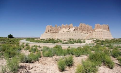 UZBEKISTAN / Karakałpacja / Kyzyl-Kala / Fort Kyzyl-Kala