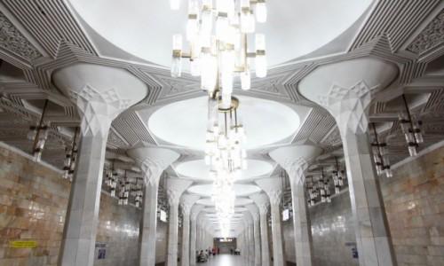 Zdjecie UZBEKISTAN / - / Taszkient / Stacja metra Mustakillik maydoni, dawniej Plac Lenina