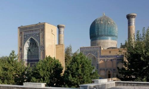 Zdjecie UZBEKISTAN / Samarkanda / Samarkanda / Mauzoleum Gur-i Mir - grób Timura Chromego