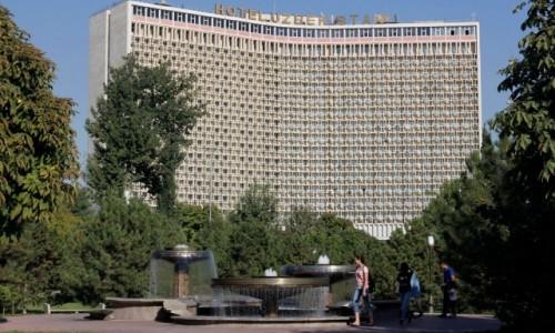 Zdjecie UZBEKISTAN / - / Taszkient / Hotel Uzbekistan w Taszkiencie