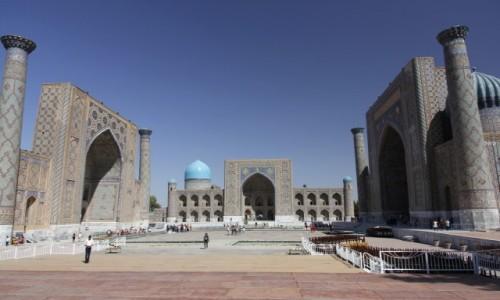 Zdjecie UZBEKISTAN / - / Samarkanda / Registan