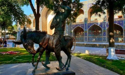 Zdjecie UZBEKISTAN / Buchara / Buchara / Hodża Nasreddin
