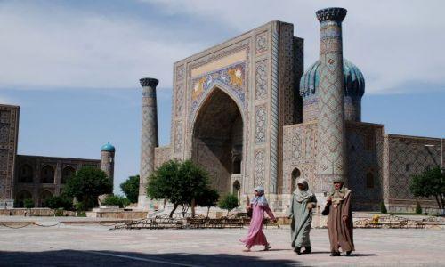 Zdjecie UZBEKISTAN / Samarkanda / Registan / W stolicy Timura