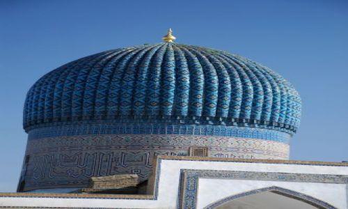 Zdjecie UZBEKISTAN / Samarkanda / Gur Emir / Turksowa kopuła