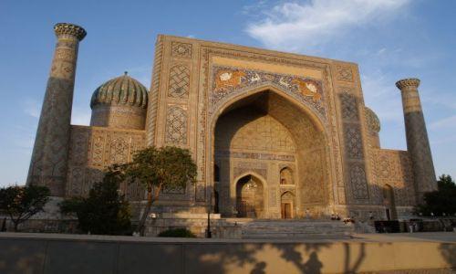 Zdjecie UZBEKISTAN / brak / Uzbekistan / Samarkanda / Medresa Szerdor
