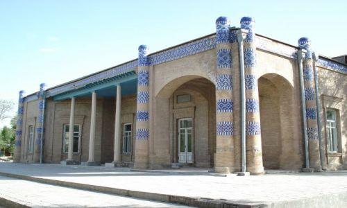 Zdjęcie UZBEKISTAN / Chorezm / Chiwa / Letni Pałac Chana Chiwy