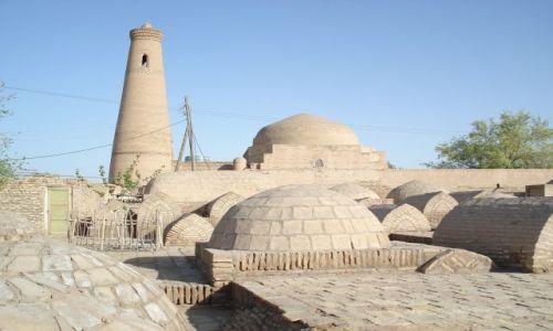 Zdjęcie UZBEKISTAN / Chorezm / Chiwa / Muzułmański cmentarz