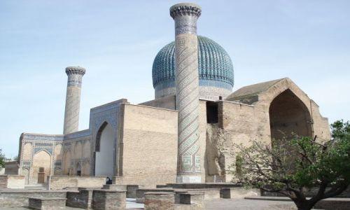 UZBEKISTAN / Wilojat Samarkandy / Samarkanda / Mauzoleum Gur Emir