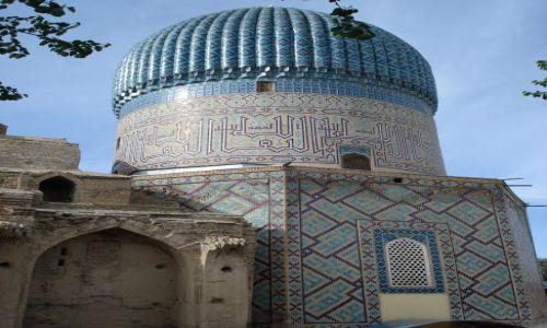 Zdjecie UZBEKISTAN / Wilojat Samarkandy / Samarkanda / Mauzoleum Tamerlana
