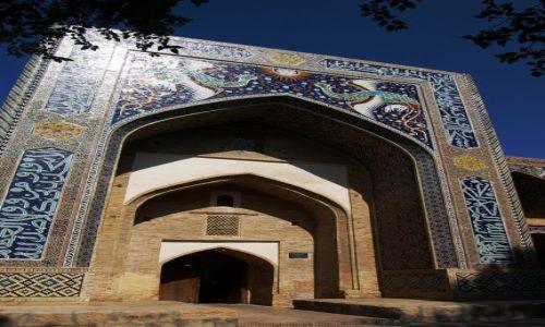 Zdjecie UZBEKISTAN / Uzbekistan / Buchara / Zdobienia Buchary