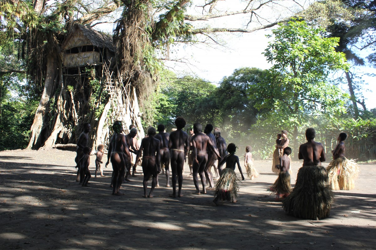 Zdjęcia: Jakel, Tanna, custom dance, VANUATU