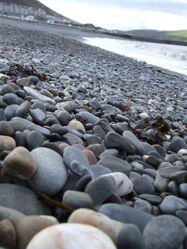 Zdjęcia: Aberystwyth, Walia, Kamyczki, WALIA