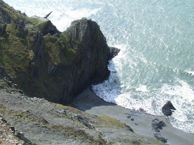 Zdjęcia: Aberystwyth, Walia, Kliff (przyjemnie wysoko), WALIA