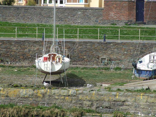 Zdjęcia: Aberystwyth, Walia, łódeczka, WALIA