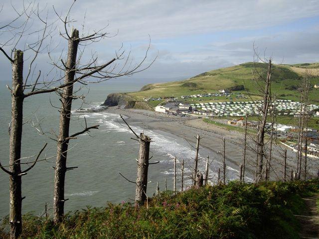 Zdjęcia: Aberystwyth, widok z góry, WALIA