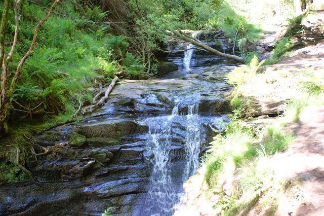 Zdjęcia: Talybont, Wodospady Talybont, WALIA