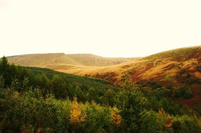 Zdjęcia: Walia, Jesień w górach, WALIA
