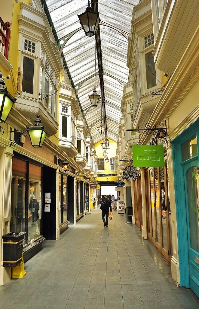 Zdjęcia: Cardiff, Południowa Walia, Cardiff, kryte uliczki, WALIA