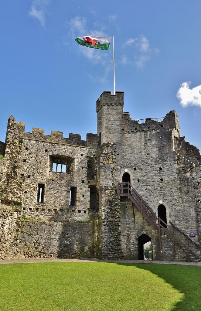Zdjęcia: Cardiff, Południowa Walia, Cardiff, zamek, WALIA