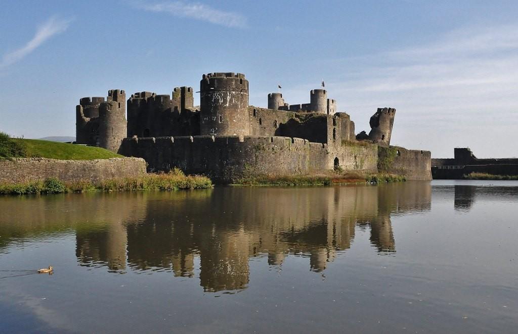 Zdjęcia: Caerphilly, Południe, Caerphilly, zamek, WALIA