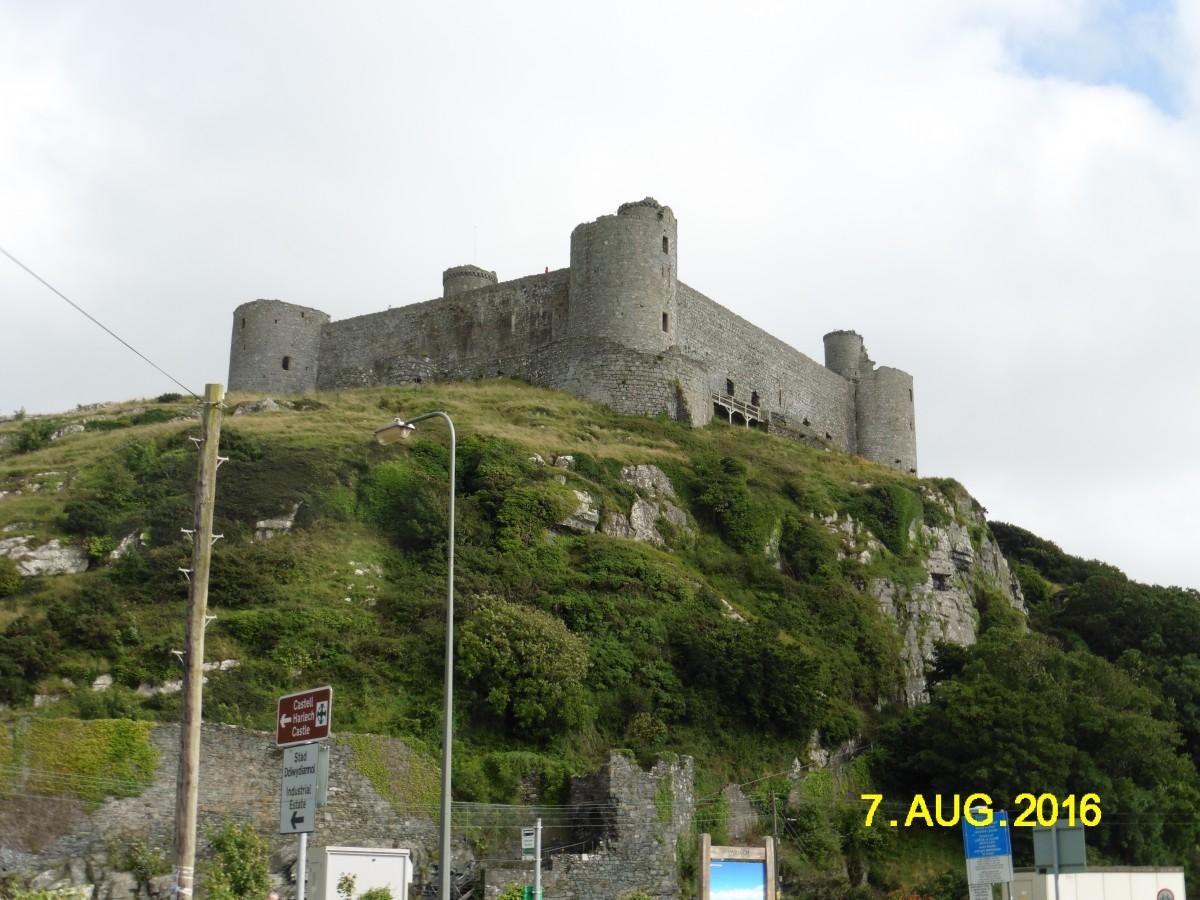 Zdjęcia: Harlech, hrabstwo Gwynedd, Zamek w Harlech, WALIA